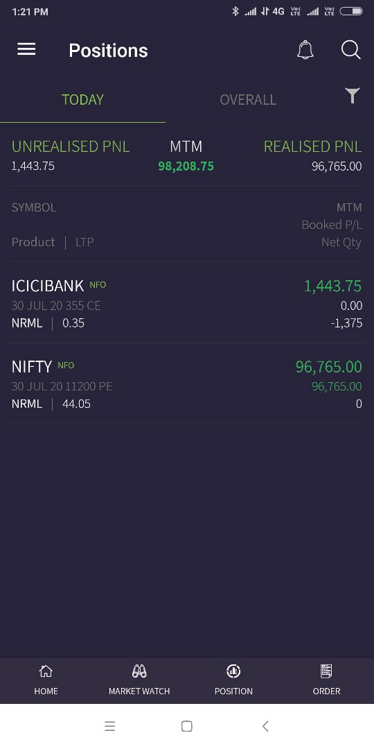 One of our friends,  today's trade #Trader #Nifty #Banknifty #optiontrading @business #RIL #RILAGM #FUTURES #CNBC #Scalping #Cnbc #Daytrader  #tradingprofits #Trading #Intraday #selling #bearish @ZeeBusiness @CNBC_Awaaz  #positional #delivery #Hdfcbank #Infosys https://twitter.com/AutusInvestment/status/1288739050975764481…pic.twitter.com/sSyEfYIxBv