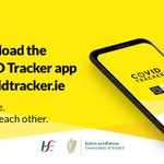 Image for the Tweet beginning: The #CovidTrackerApp can alert you