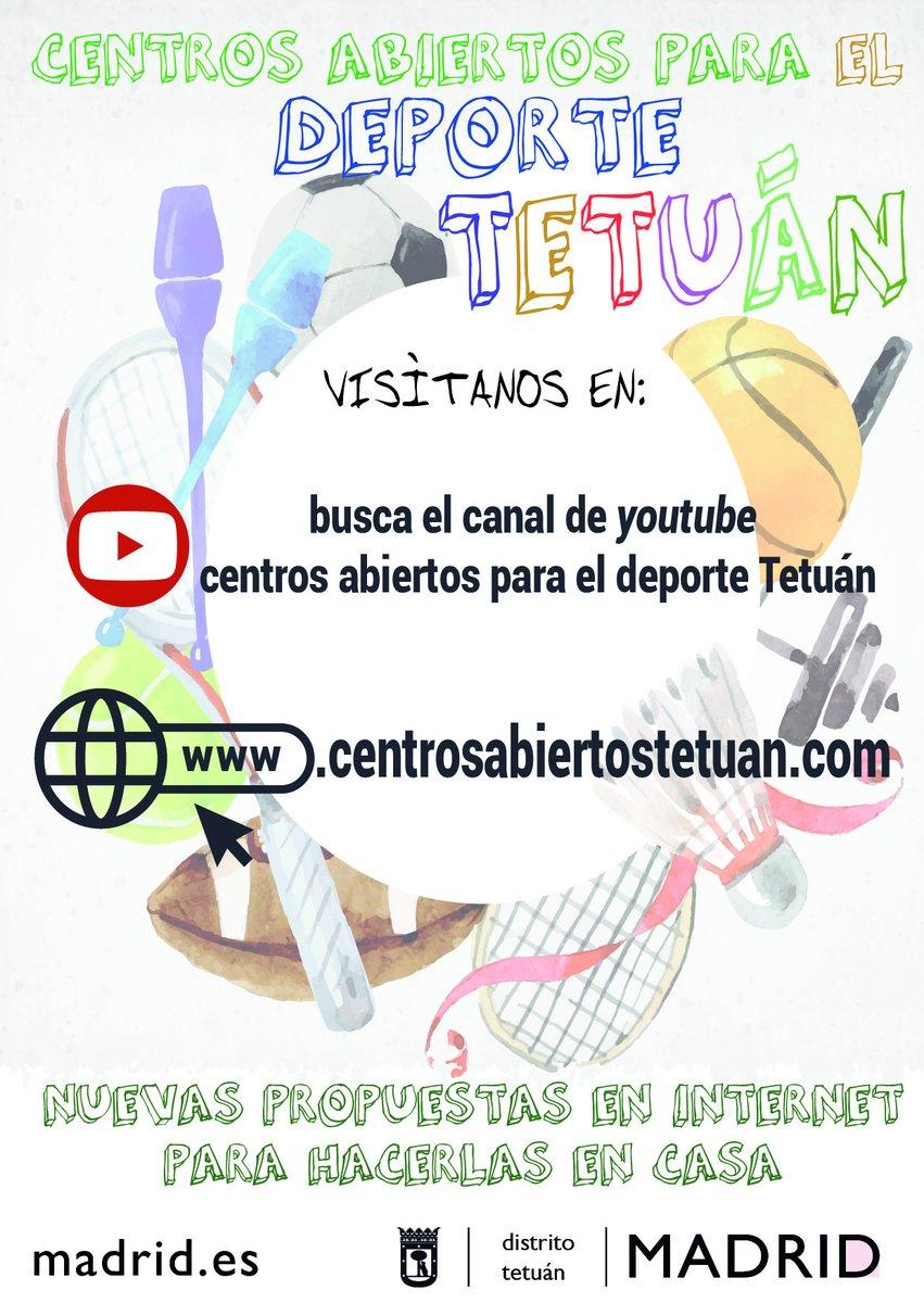 Aerobic Unihockey  Cariocas   Juegos de Habilidad Con Abi y Beca diviértete en familia con las propuestas de los centros abiertos para el deporte de #Tetuán Descubreen la webhttps://www.centrosabiertostetuan.com/pic.twitter.com/t9sYIsGu7j