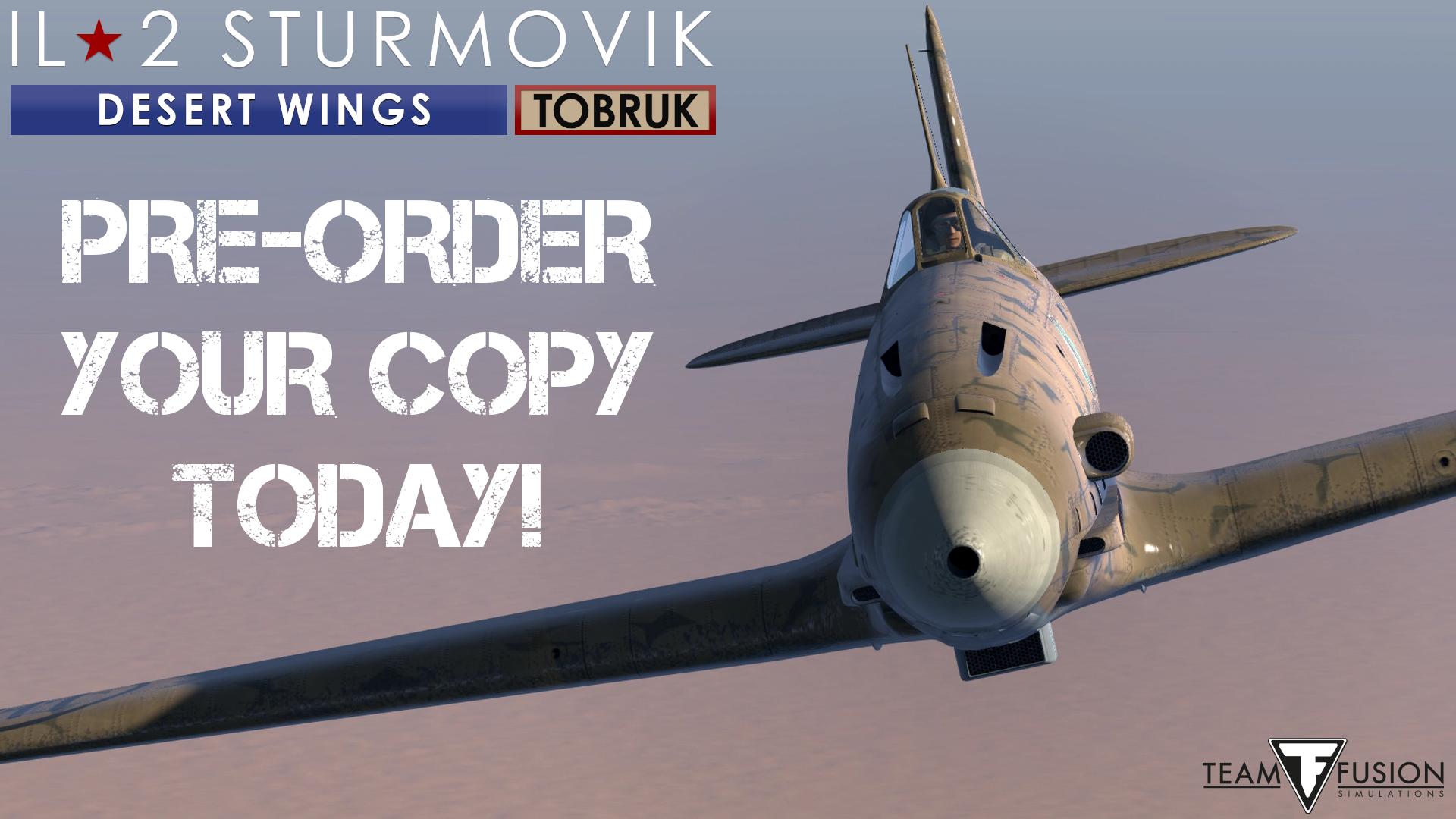 Pré-commandes d'IL2 Desert Wing Tobruk lancées EeKVRPVU0AEThvI?format=png&name=large