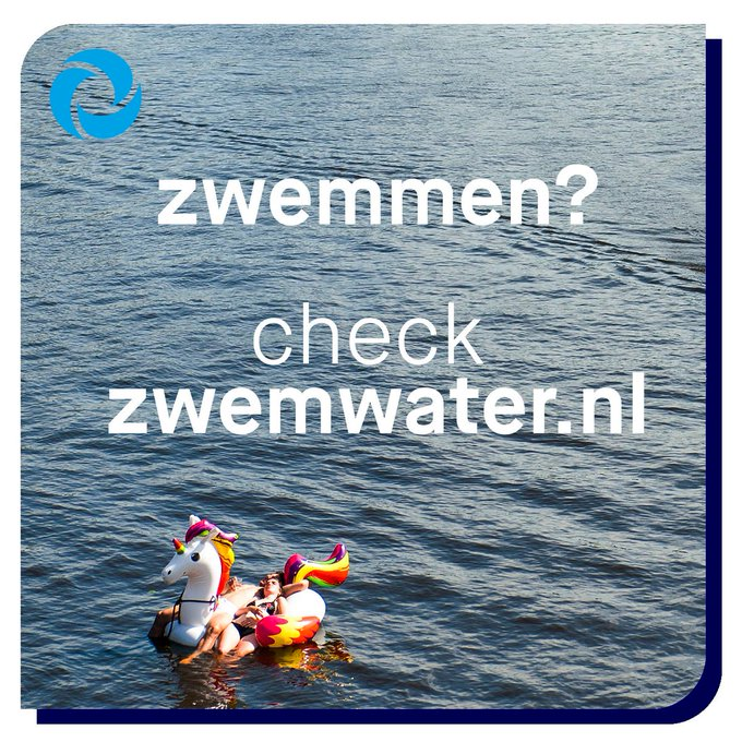 ⚠️ Zwemmen op een veilige locatie 👉 https://t.co/1l2DQOQA9Y  Yes! Het wordt weer een prachtig weekend om lekker van het water te genieten!☀️Maar geef elkaar de ruimte en vermijd drukke plekken.   🏊♀️ Geniet ervan maar zwem niet in druk vaarwater, bij sluizen en bruggen. #zwemmen