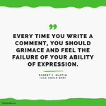 """Image for the Tweet beginning: """"Every time you write a"""