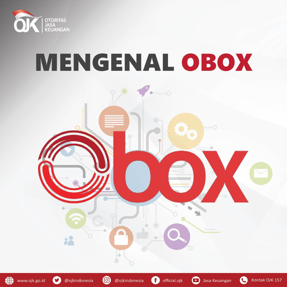 Ojk Indonesia On Twitter Sobat Ojk Sudah Kenal Obox Belum Bagi Yang Belum Kenal Obox Atau Ojk Box Adalah Aplikasi Berbasis Teknologi Digital Untuk Mengawasi Sektor Jasa Keuangan Yang Dimulai Dari Sektor