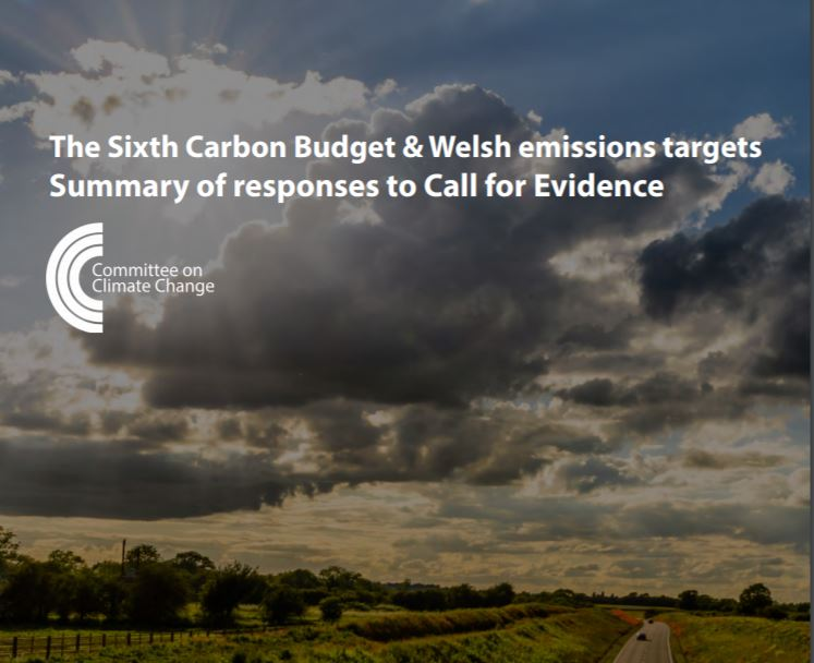 In December we publish new advice to Government on the #SixthCarbonBudget which will set  out a pathway to meet #NetZero UK emissions in 2050 for the first time. We received ~180 responses to our Call for Evidence. Read our new summary of what you told us: https://t.co/dkyQQXBiYg https://t.co/1wWWWhRhrn