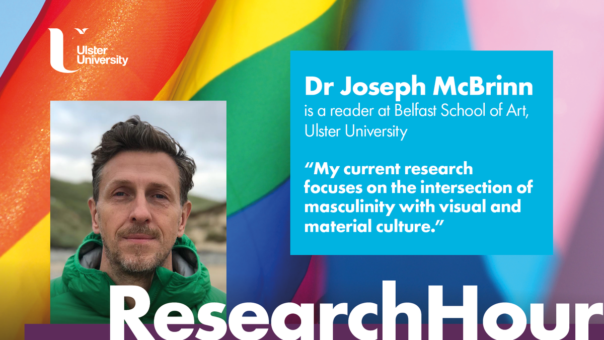 Ulster University On Twitter Researchhour Dr Joseph Mcbrinn Has Published And Lectured Internationally On Lgbtq Issues In Art And Design History He Writes About Queer Textiles Fashion Painting Photography And Is