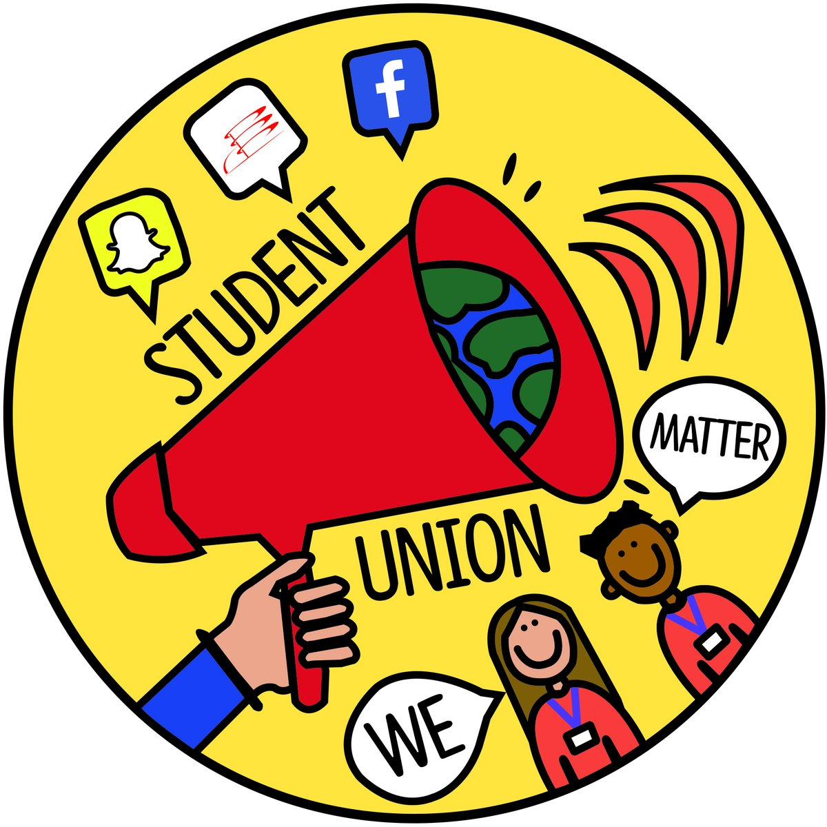 The #StudentUnion (SU) is made up of a group of students whose role it is to be the voice of the student body (all students). They attend meetings throughout the year to discuss any suggestions, changes or improvements potentially needed by the #College #WeAreInternationalpic.twitter.com/9uYloPUhnc