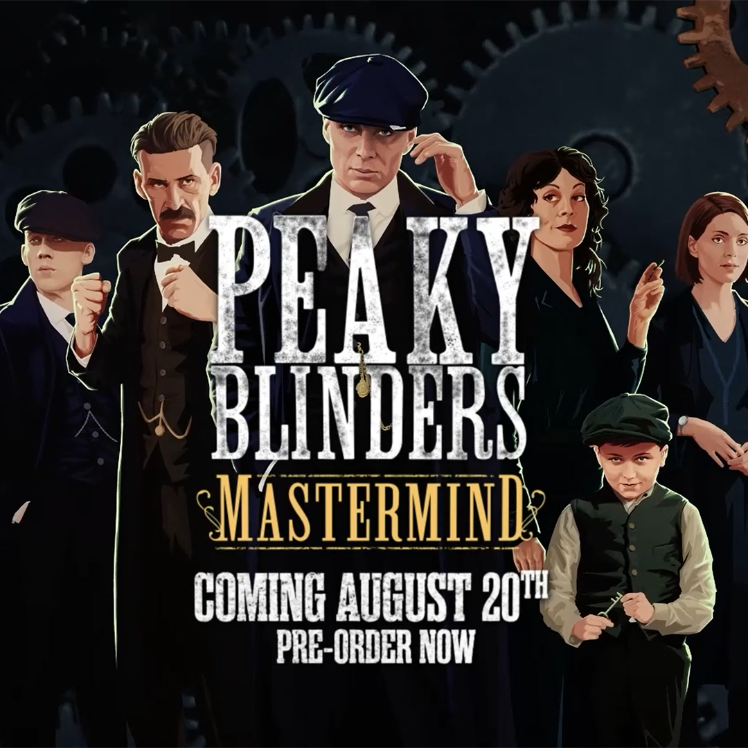Become Tommy and the rest of the Shelby family in #PeakyBlinders: Mastermind, the puzzle-adventure game coming to PC and consoles on 20th August. Check out the amazing new trailer, featuring the voice of Cillian Murphy! Pre-order now: https://t.co/Z3VVnRaE4p https://t.co/EC8rjbnK90