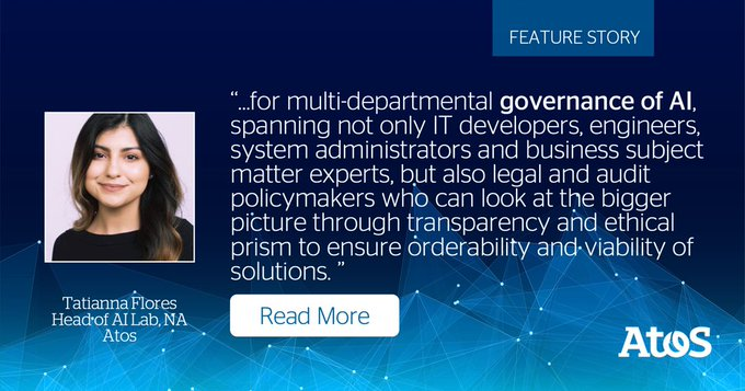#AIGovernance is largely about forging new roles and a culture conducive to ethical,...