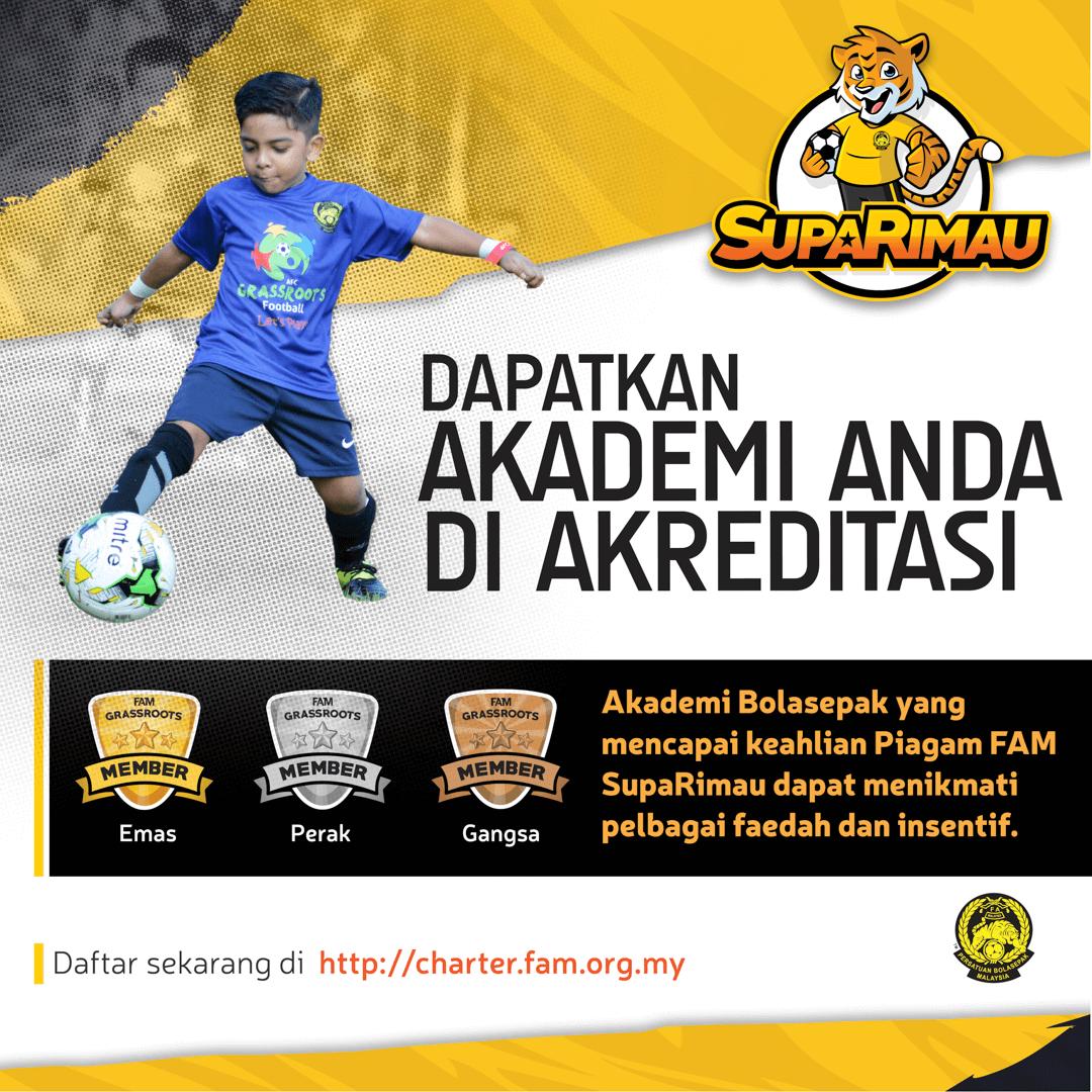 Fa Malaysia On Twitter Siaran Media Fam Memulakan Pelaksanaan Piagam Suparimau Fam Dan Menyeru Semua Akademi Bola Sepak Di Malaysia Untuk Menyertai Inisiatif Ini Baca Penuh Di Https T Co 2eodouzahc Muat Turun Poster Poster Di