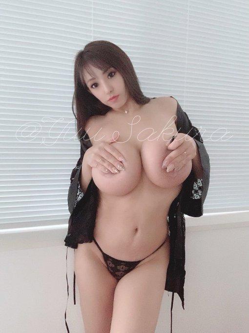 AV女優さくら悠のTwitter自撮りエロ画像34