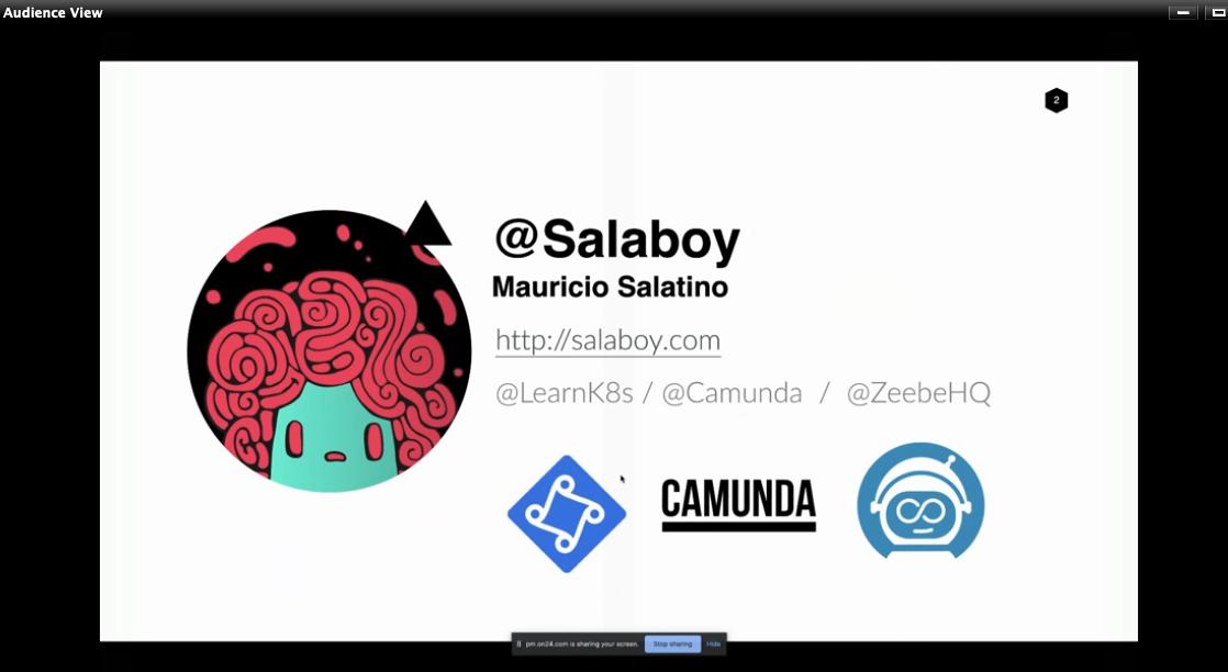Watching @salaboys live demo on @jenkinsxio on @linode + @learnk8s webinar 💻
