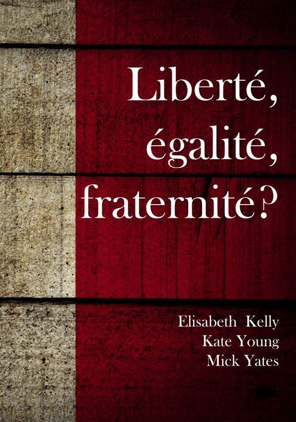 """Hedgehog Poetry on Twitter: """"I'm really pleased to be able to announce that Elisabeth  Kelly, Kate Young and Mick Yates will be 'sharing' a quite brilliant wee  anthology ' Liberté, égalité, fraternité?'"""