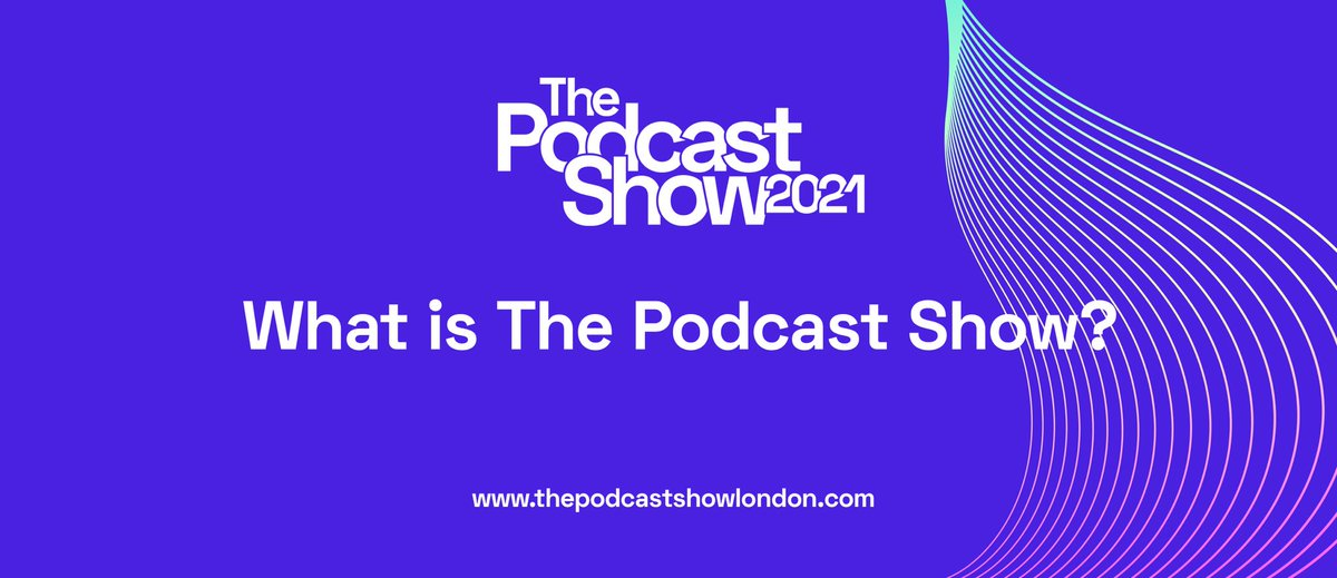 🗣The Podcast Show 2021 is THE place to explore the world of podcasting. Network with major players, develop your skills, and discover the podcast stars of tomorrow. Ticket info and all the latest updates: thepodcastshowlondon.com