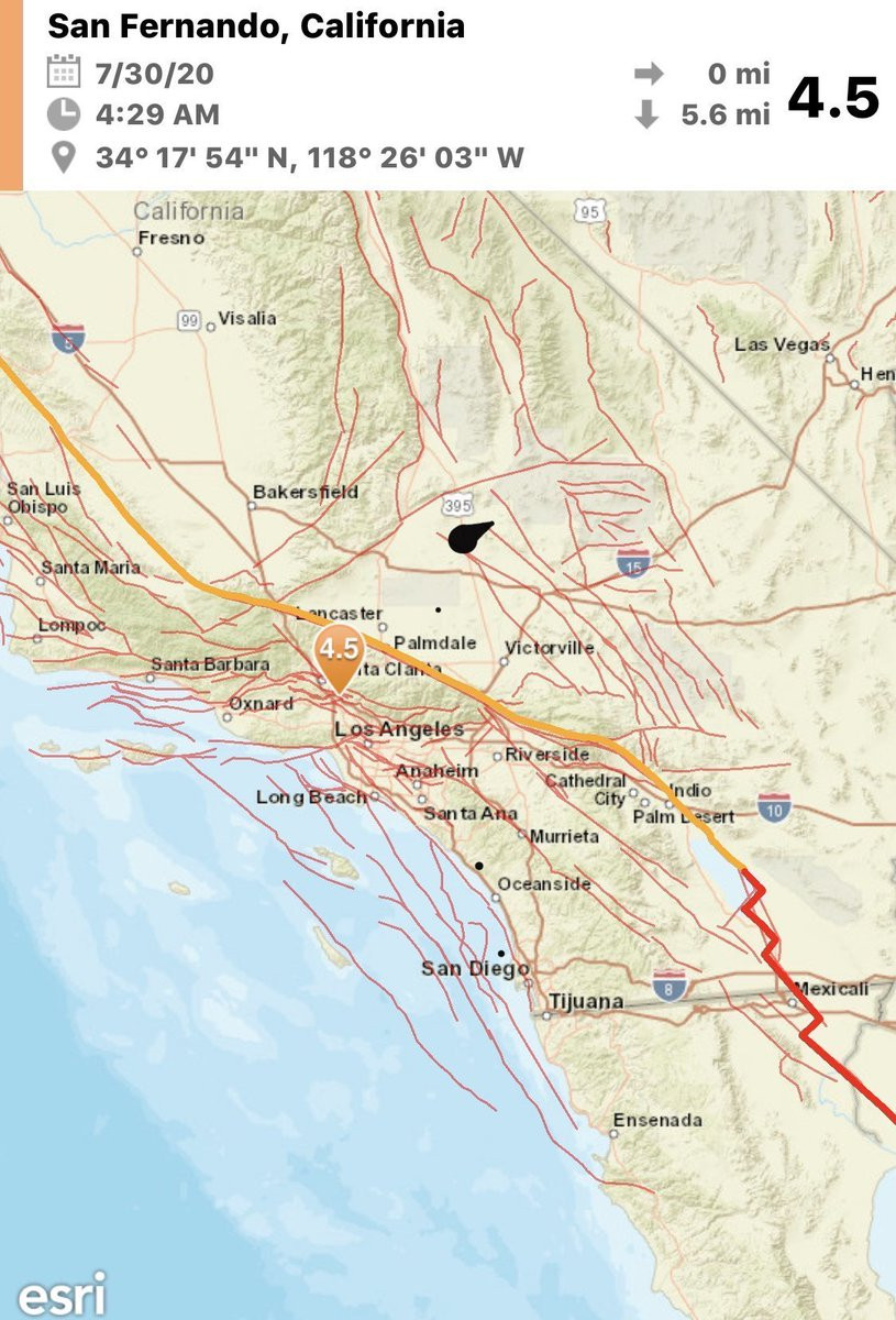 Just experienced my first #earthquake. Building was shaking back and forth. Crazy!