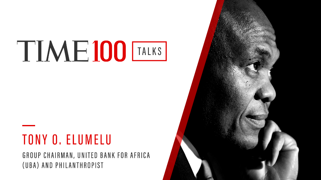 Join us today 1 p.m. E.T. for a live #TIME100Talks featuring a conversation with @TonyOElumelu. Register now: https://t.co/BlYuQzZKrm https://t.co/meaJzRZFY5