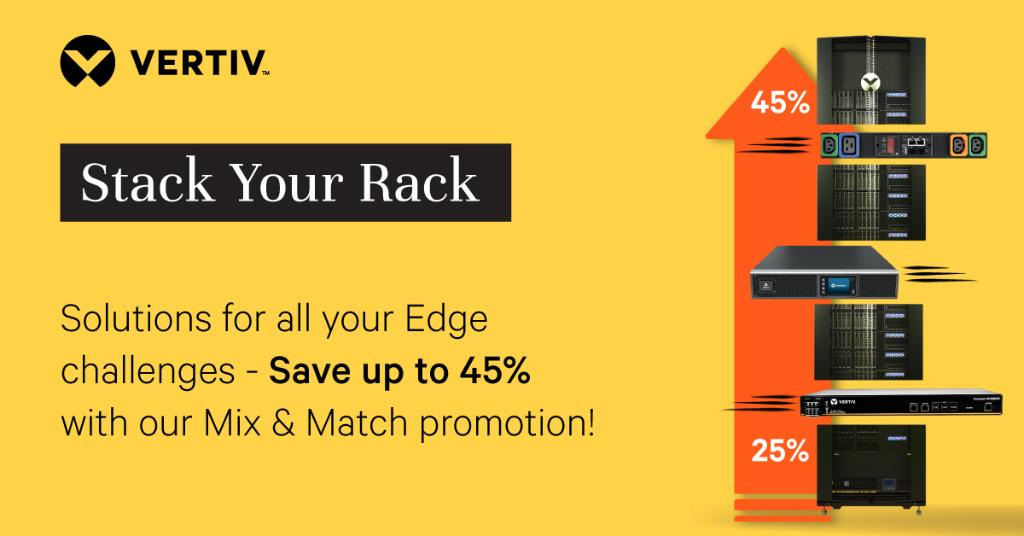 Are you ready to build a solution that gives you an Edge? Don't forget to take advantage of our Mix & Match promotion and save up to 45%! The more product categories per order, the greater the savings! https://t.co/j6bqpi2qni https://t.co/WuXVGLvql0