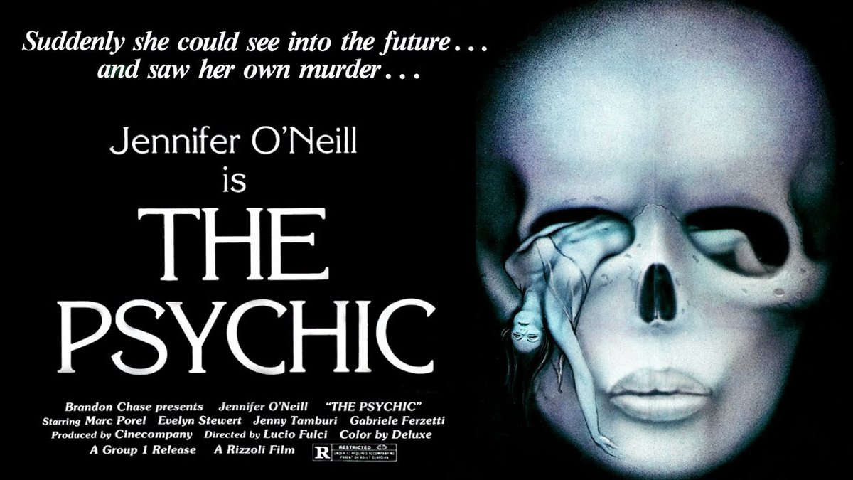 THE PSYCHIC – SETTE NOTE IN NERO (1977) #giallo by Lucio Fulci #horror #poster pic.twitter.com/XQ60xltS5W