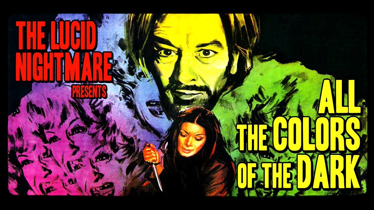 ALL THE COLORS OF THE DARK (1972) by Sergio Martino #giallo #horror #poster pic.twitter.com/dhq1Q4jQVB