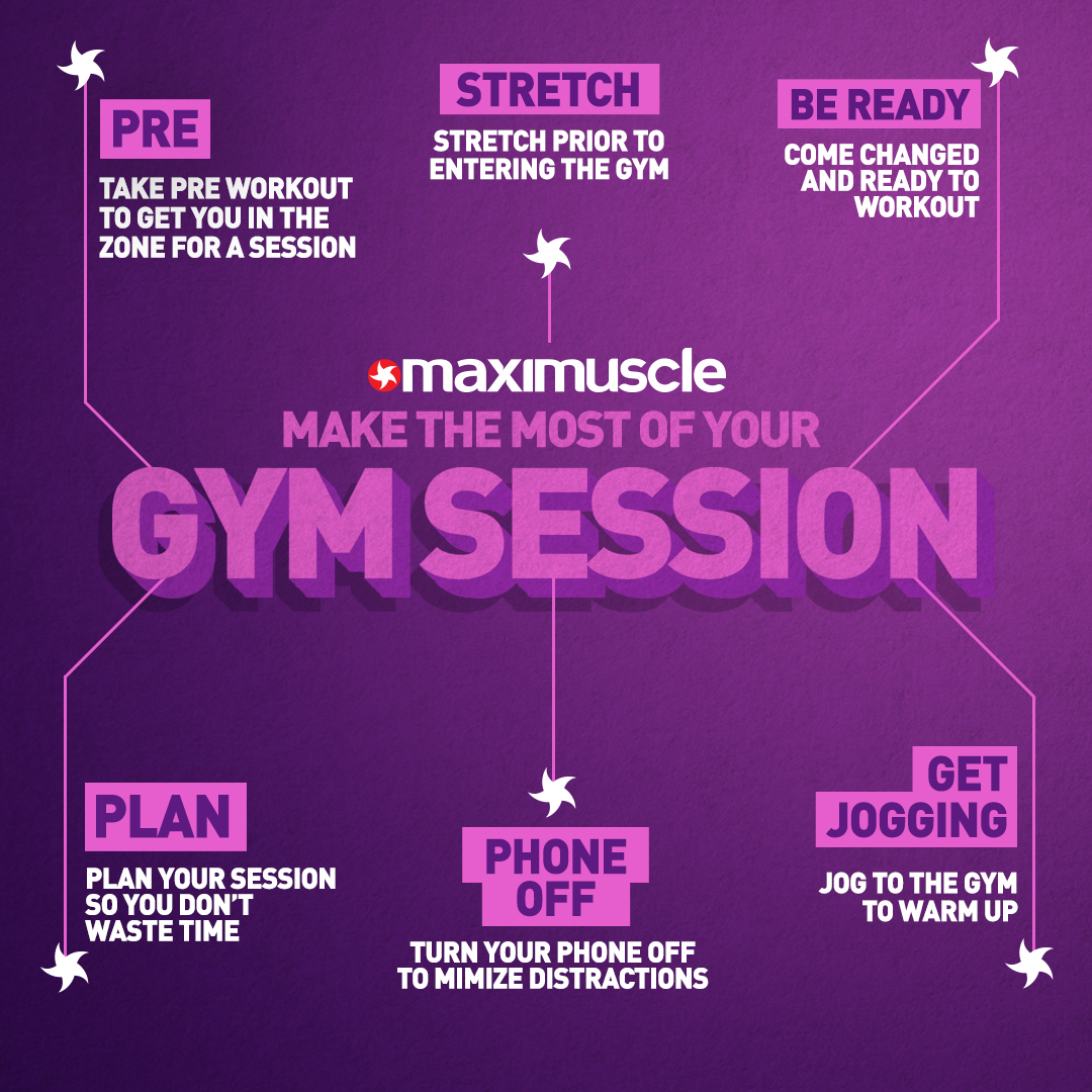 Ready to smash and make the most of your gym session?? 💥 🔥  Here are some tips to help you make the most of your time in the gym!!  #Tips #Gym #Fitness #FitTips https://t.co/epMaw0NcRl