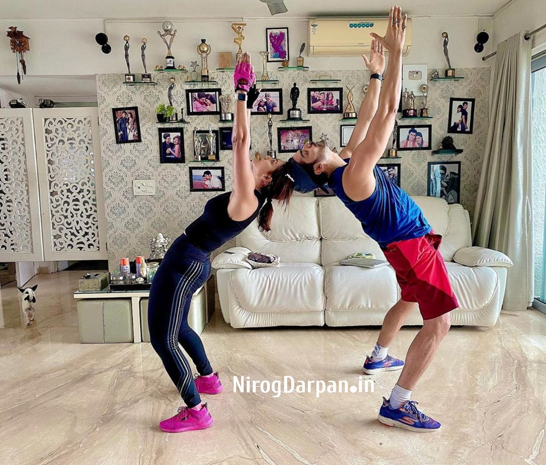 'Ram-Sita' Couple, @gurruchoudhary And @imdebina Are One Of The Power Couples Of Tinseltown. Debina And Gurmeet Choudhary Are On A Mission To Attain Fitness Goals Together And It's Pure Motivation.pic.twitter.com/OOih0Ger78