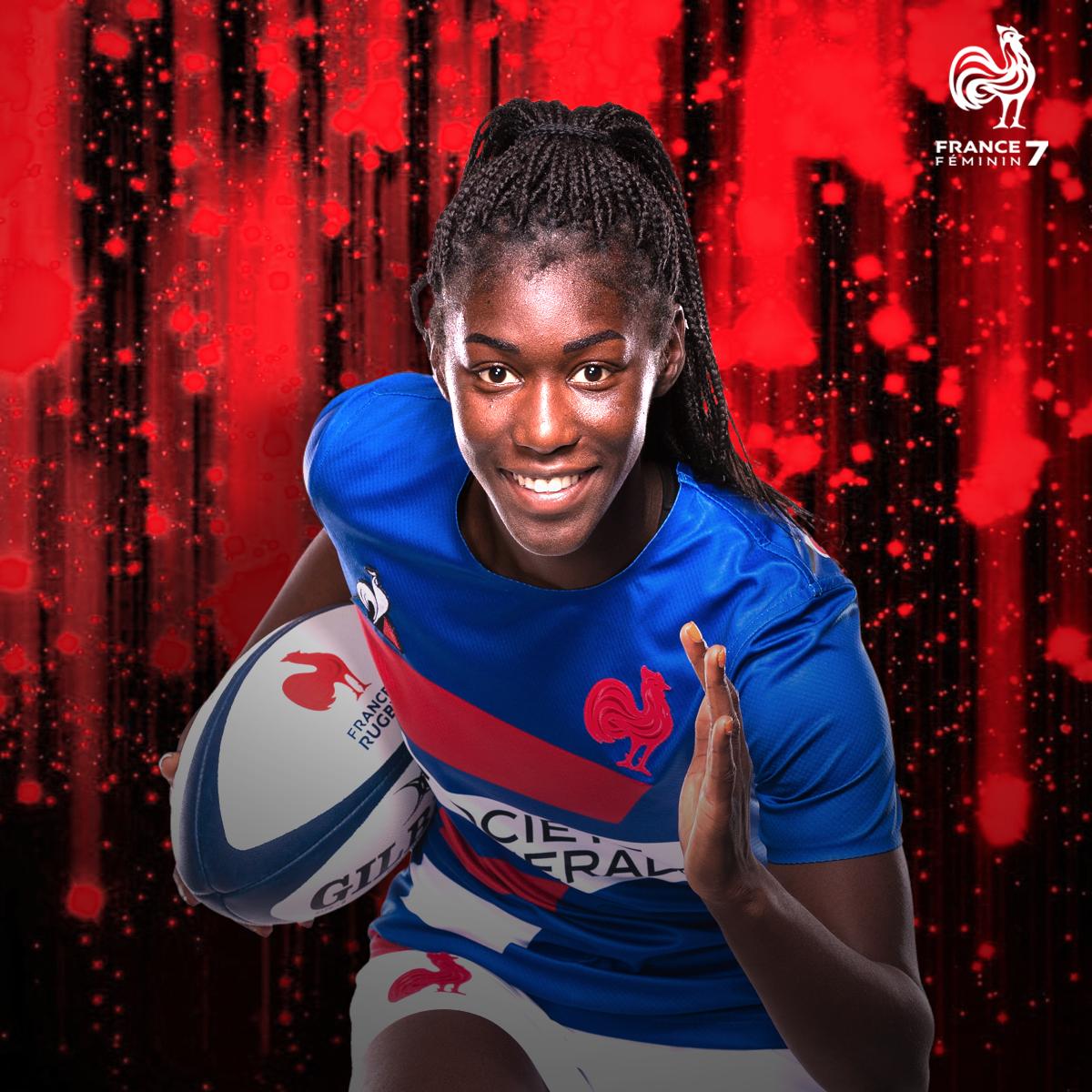 🎂 Notre joueuse de #France7 fête aujourdhui ses 21 ans ! Joyeux anniversaire @nassira_konde ! 😘