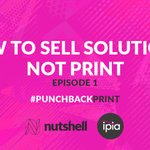 Image for the Tweet beginning: How to sell solutions, not