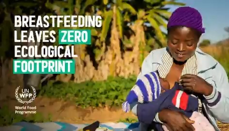 #DYK Breastfeeding produces: 0️⃣ zero waste 🍼 0️⃣ zero greenhouse gases 💨 and has 0️⃣ zero water footprint 🌊 Breastfeeding for the first 6 months of a babys life is good for baby, mom, and for a more sustainable planet. 👶🤰🏽🌎 #WBW2020 ✊