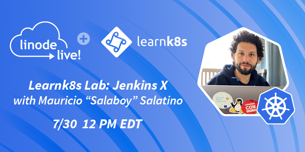 There are only a few hours left to register for this free @LearnK8s lab today at 12 PM ET. Learn how to use @jenkinsxio and the common patterns, tweaks, and best practices to speed your development practices. Sign up here: lin0.de/9tMNIW #Kubernetes @salaboy