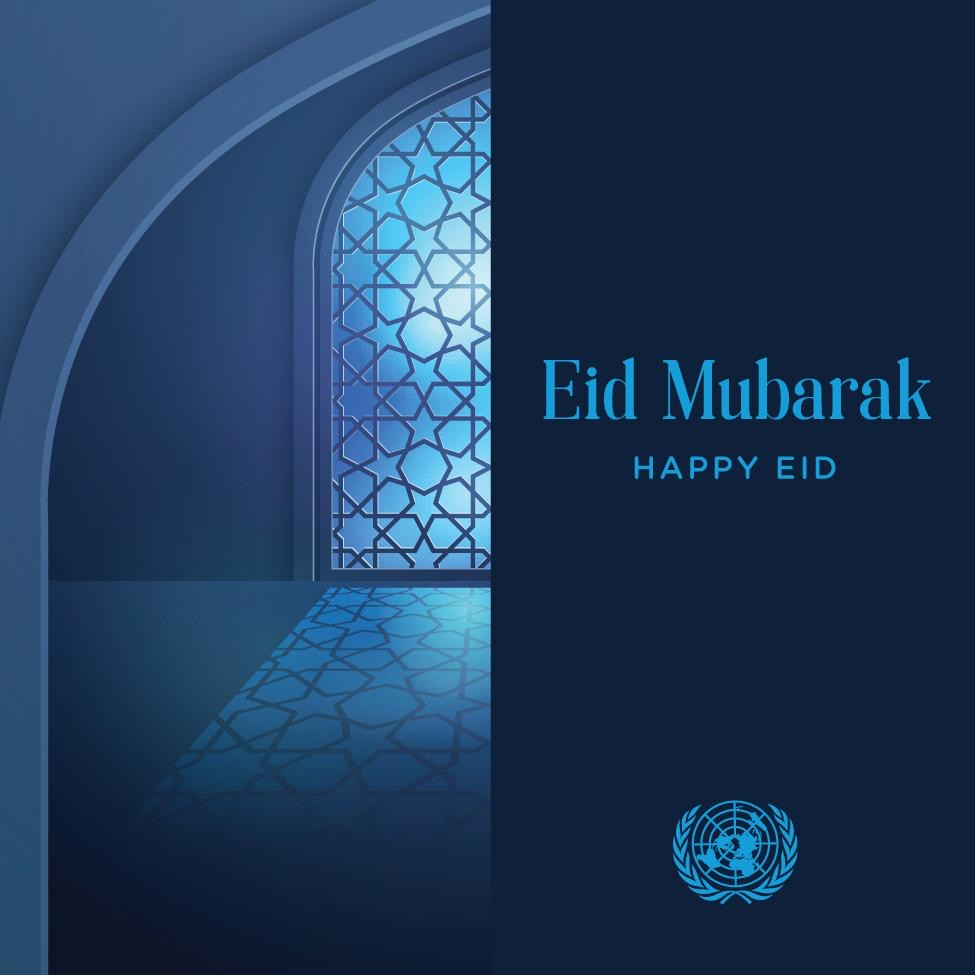 Together in solidarity and with our utmost compassion. Happy, healthy and safe #EidAlAdha #EidMubarak
