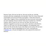 Image for the Tweet beginning: #BreonnaTaylor for @oprahmagazine