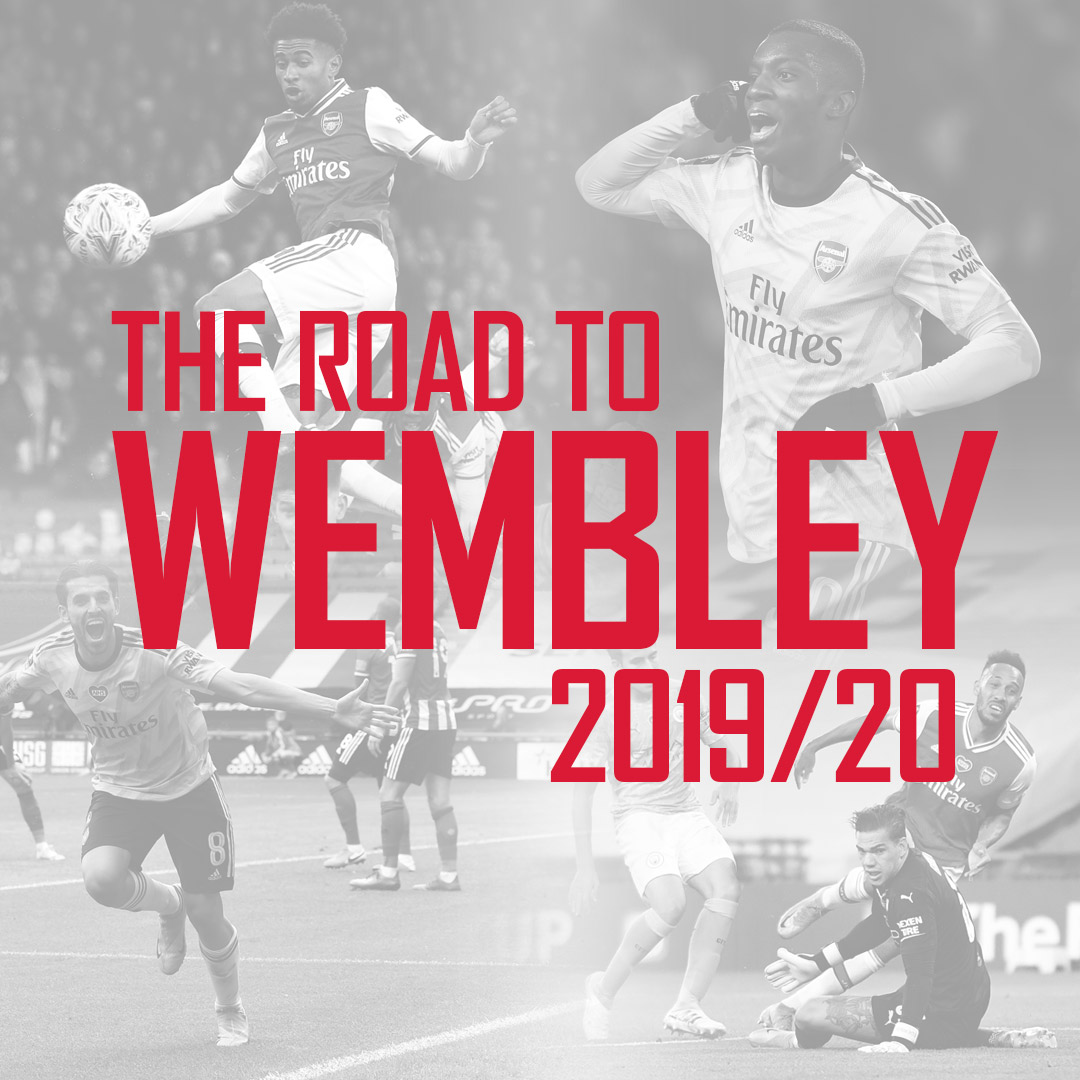🛣 The Road to Wembley - 2019/20 edition Getting in the mood for Saturday now? 😉 🏆 @EmiratesFACup | #HeadsUpFACupFinal