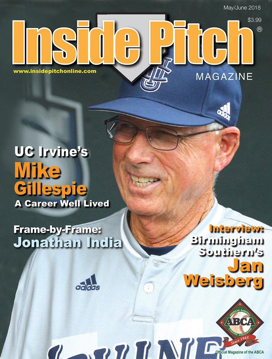 Yesterday we lost an all-time great in ABCA Lifetime Member & Hall of Famer Mike Gillespie. HOF BIO: abcahalloffame.org/inductees/inde… Try to enjoy it. Part of the reason we do this is because we don't have to get a real job! Q&A from @insidepitchmag: abca.org/magazine/2018-…