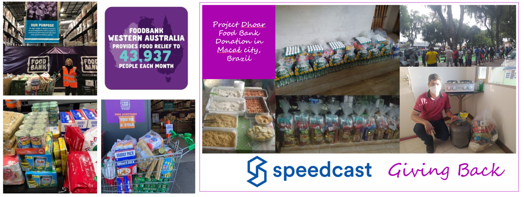 Proud of the donation efforts by members from our Speedcast Perth and Brazil offices, who recently provided to local foodbanks. Learn how to help: https://t.co/2UDpKfwMmr https://t.co/q19AVjnkjD