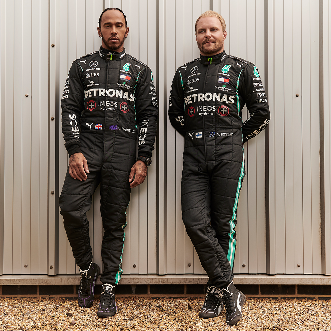 We're proud to be working with @MercedesAMGF1  providing them with our hand sanitisers to allow them to get the job done at the factory and track with confidence. Now, the same products they use are available to you, exclusively online at Amazon: https://t.co/cvqOGenOEh https://t.co/P9nFA3AsFL