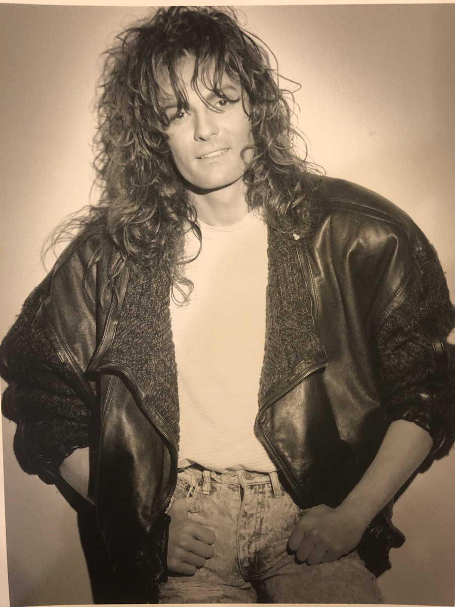 #TBT Can you guess who? No, not Jon Bon Jovi's brother. Yeah me. Year: 1990.  Go ahead laugh & enjoy! #funny #1990s #memories #rockstarpic.twitter.com/YS20Ozny6W