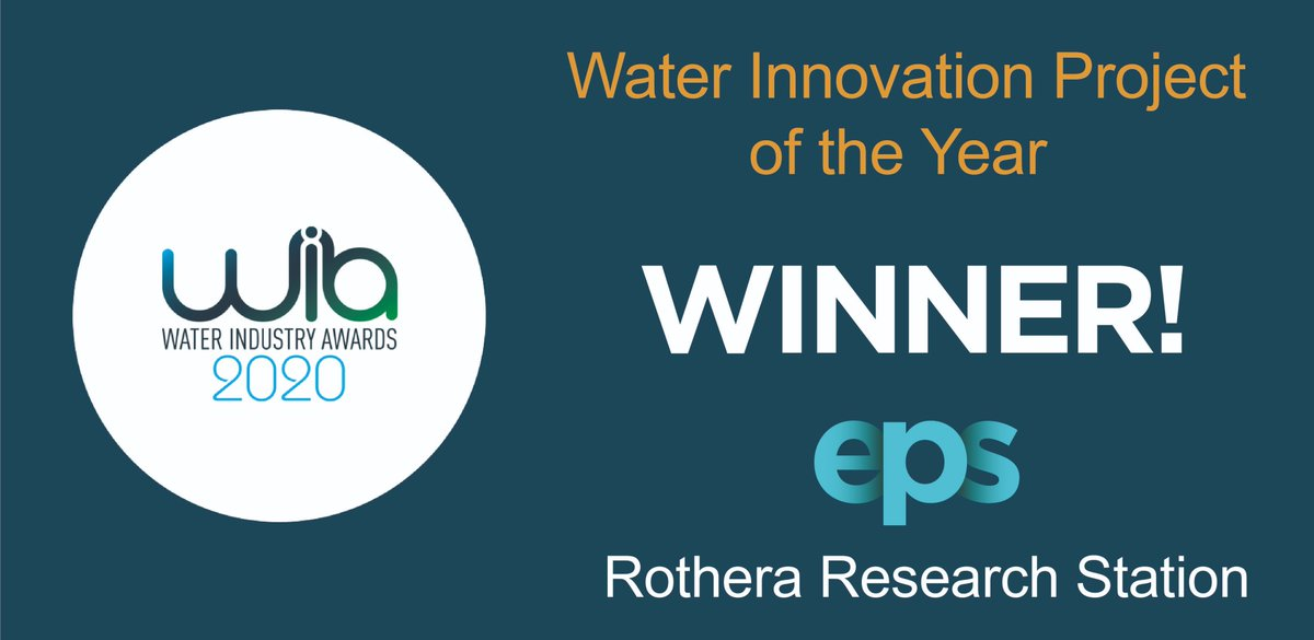We are thrilled that our work for @BAS_News for #Rothera Research Station in conjunction with @SalsnesFilter & @TrojanTech has just scooped Design for Manufacture and Assembly (DfMA) Project of the Year at the Water Industry Awards! #WaterAwards20 #RethinkingWater https://t.co/2uWcCTgRaE