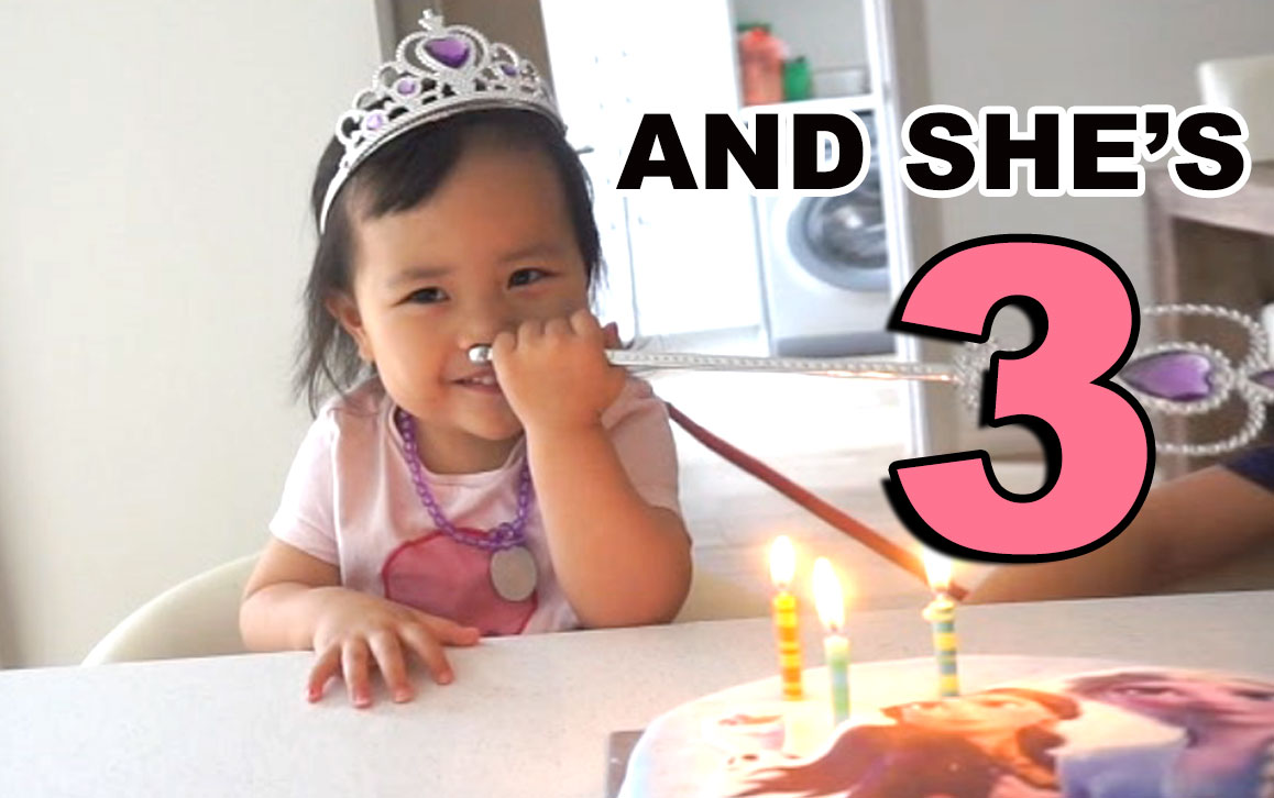Aaaaand she's 3!!!! https://t.co/utaTF5msZH https://t.co/OX9LHONjuV