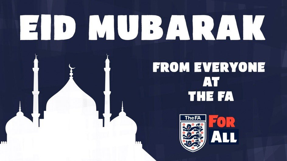 We'd like to wish a happy #EidAlAdha to everyone in the football community who is celebrating the Islamic holiday. https://t.co/EessaQJLul