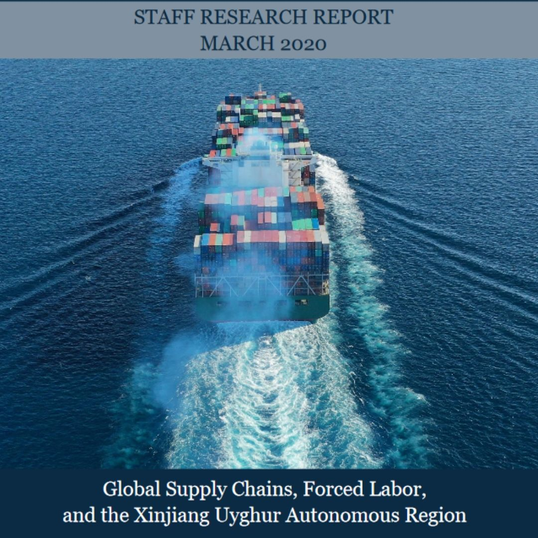 See recent @CECCgov report on forced labor in #Xinjiang & the #UyghurForcedLaborPreventionAct (H.R. 6210 / S. 3471) that will stop forced labor made goods from #Xinjiang by requiring companies to prove their imports to the US are made w/out forced labor. bitly.ws/9dnX