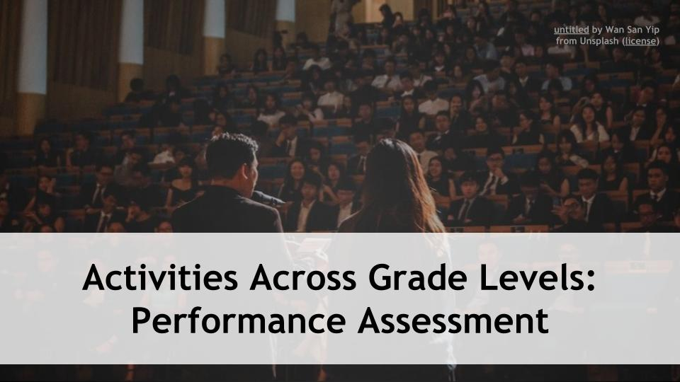 Performance assessment! Our Activities Across Grade Levels webinar series returns today at 3:30p Pacific/6:30p Eastern with that as the focus. Register for free at: https://t.co/bpZUeypLMl #5DTC #Zoomedu #5DTC #CatholicEdChat #ISTEchat #FETCchat #CAedchat #TLAP #LeadLAP https://t.co/moxK3MnsJG