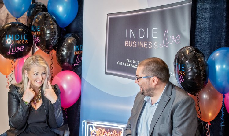 The moment I was told that #IndieBusinessLive an initiative created from the heart & all for the greater good had already reminded millions of the UK public that we need our small businesses & we will help to bring them together through @indie_biz_live  🙌🏼 thank you so much 💜 https://t.co/0dvrCsSXvX