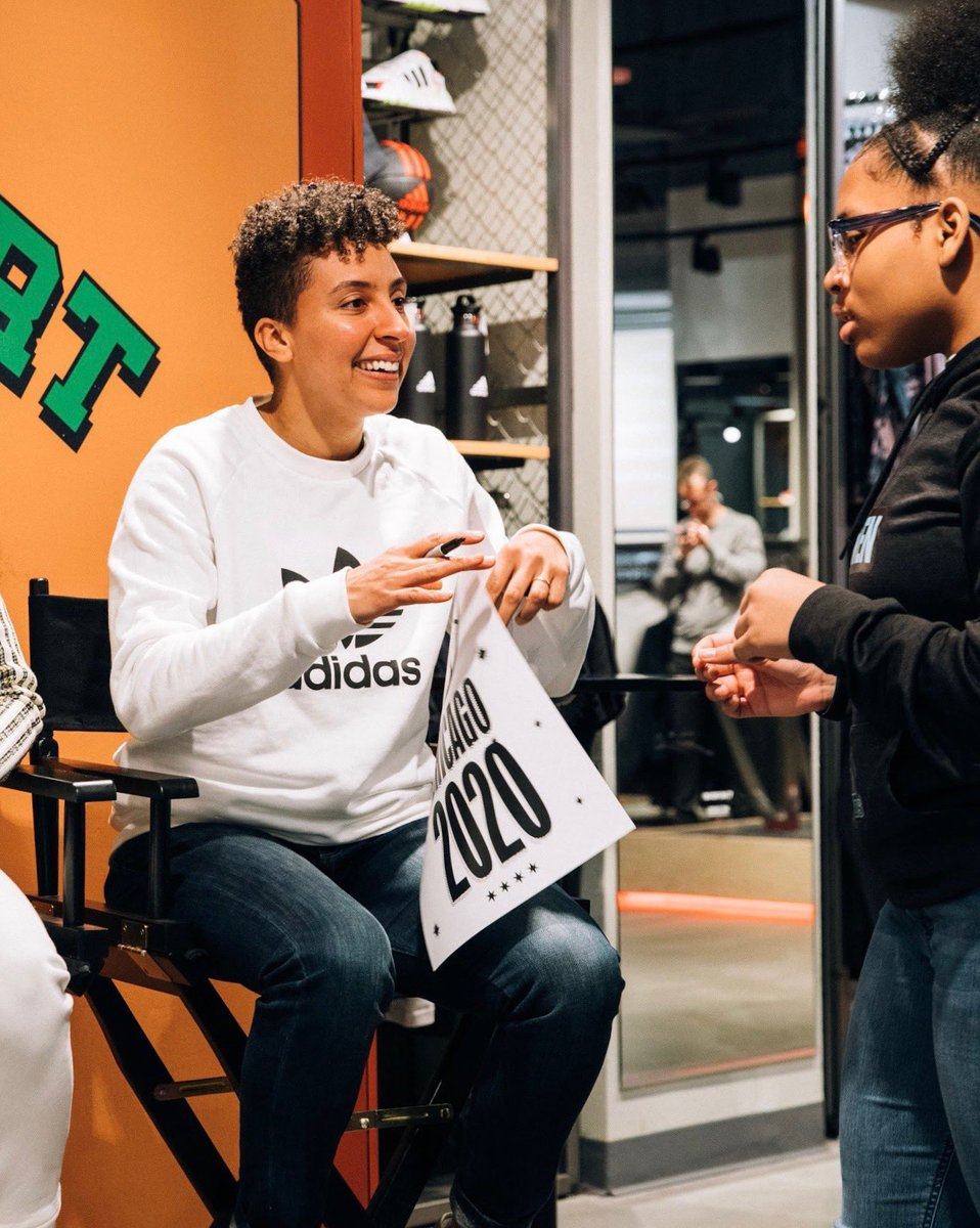 I'm so proud to announce that I'm partnering with @adidashoops and the @wnba to give 1,000 adidas legacy student athletes access to WNBA League Pass. We know that representation matters and you need to see it to believe it. https://t.co/4CNorLpWxv