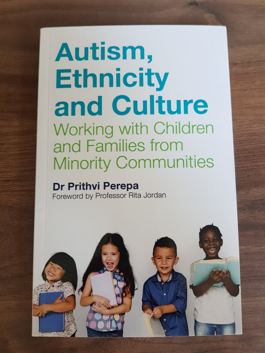 Currently, much autism research focuses on White (often middle class) families. As a result, autism services and supports tend to be designed for White middle class families. We need to do better. Looking forward to reading an important book on this topic by @PrithviPerepa...