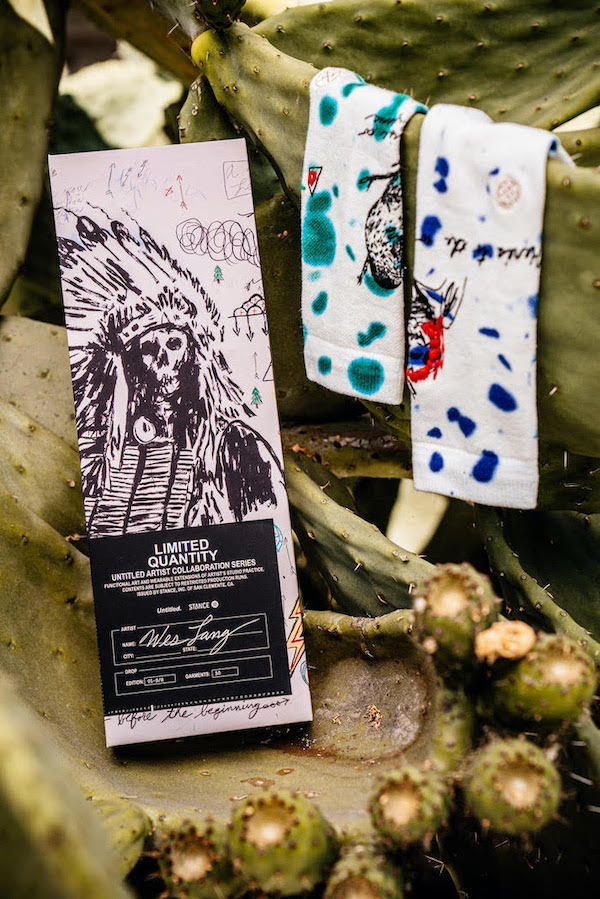 Newest drop from our friends at @stance featuring the works of American painter #WesLang https://t.co/qVukis1nlj https://t.co/imcDETB6Pb