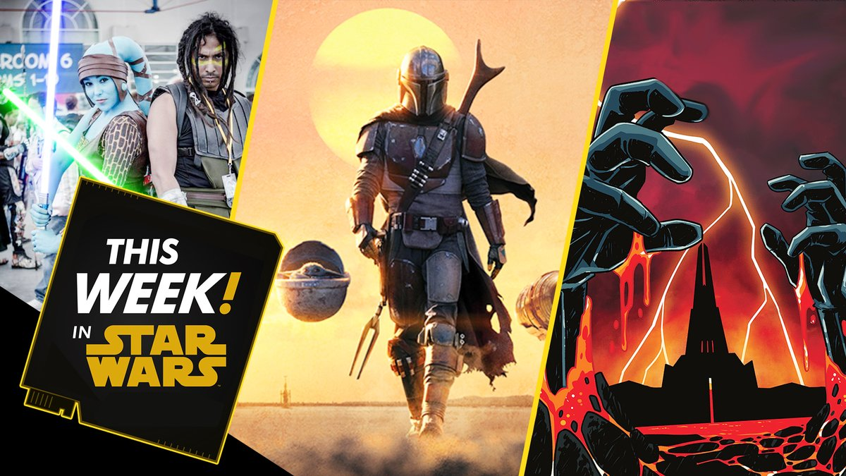 #ThisWeekInStarWars: we celebrate #TheMandalorian's Emmy nominations, recap all the news from #ComicConAtHome, catch up on our #CloneWarsRewatch, check out your convention cosplay at home, and more! Presented by @GEICO. #ad