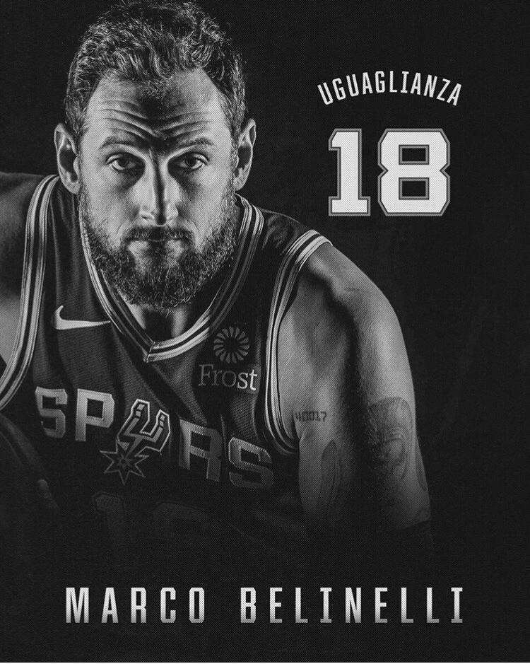 NBA – Marco Belinelli: UGUAGLIANZA perchè siamo tutti diversi e per questo motivo siamo tutti uguali