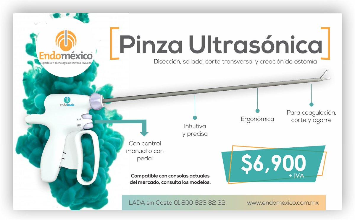 ⚡️ NUEVO ⚡️ Pinza ultrasónica a súper precio 🔥  Manda un DM o: 📞 LADA sin Costo: 01 800 823 32 32 📱WHATSAPP: (+521) 22 24 55 99 75  #laparoscopia #endomexico #cirugia #cirujanos #laparoscopy #equipomedico #laparoscopistas #instrumentalmedico #Salud https://t.co/IrKv8k0TYK
