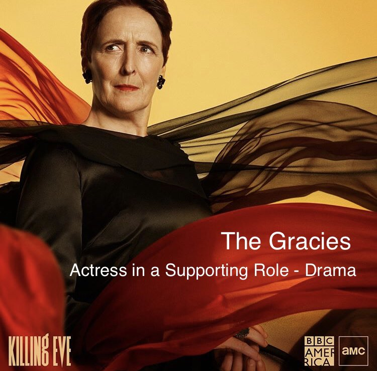 Congratulations to Fiona Shaw on winning a Gracie Award for Actress In A Supporting Role - Drama at @AllWomeninMedia's #TheGracies!   allwomeninmedia.org/gracies/2020-g…
