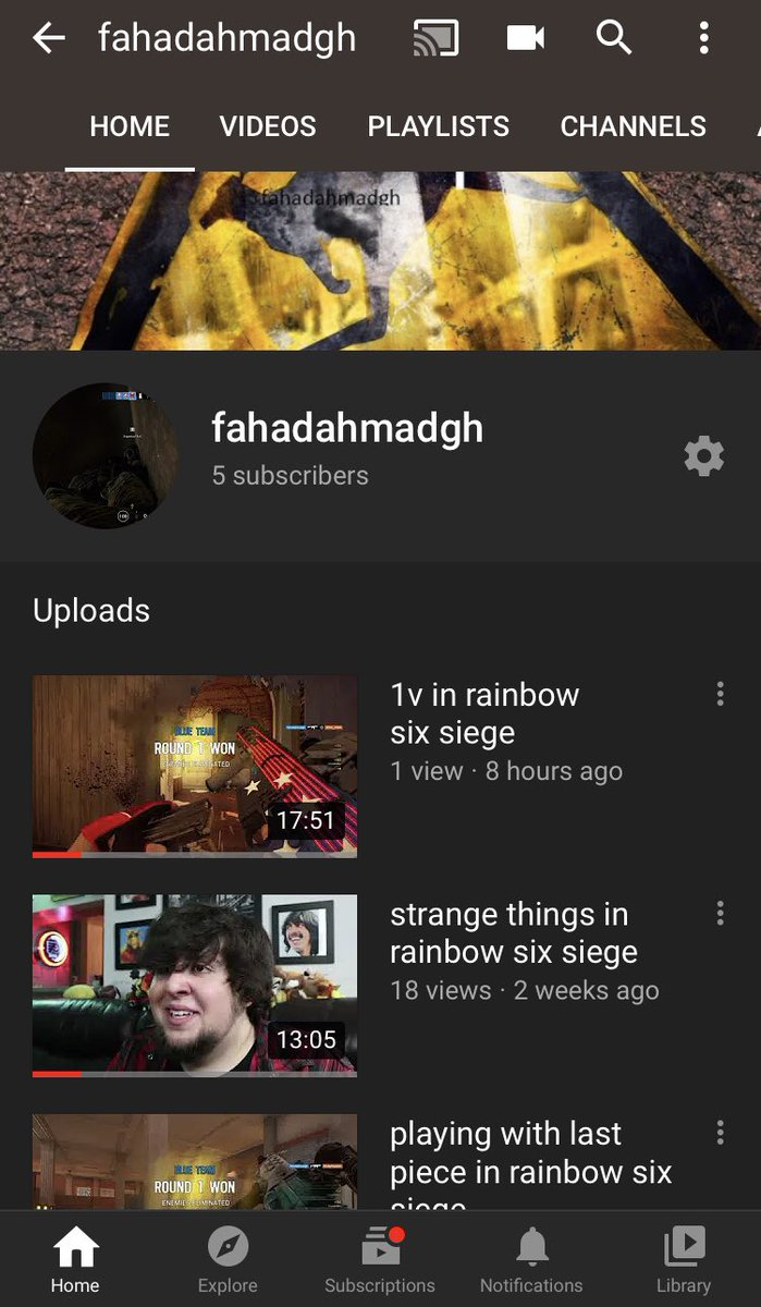 Visit my channel in my bio i just upload video and if you like please subscribe #R6 #R6S #r6memes #r6community #r6gamer #RainbowSixSiege #r6siege #rainbowsix #rainbow6siege #Rainbow6 #rainbow6memes #r6clips #Online #PS4 #ps4clips #ps4gamer #YouTuber #YouTube #LinkInBio #thankspic.twitter.com/PnZ96XCX0i