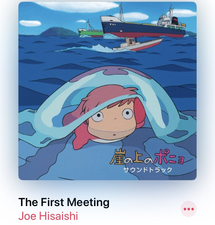 The #filmscore for Ponyo is just delightful. pic.twitter.com/wHXRgZGUM7